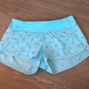 Lululemon Blue Run Speed Running Shorts